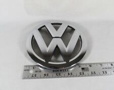 VW TOUAREG GRILLE EMBLEM 11-14 FRONT GRILL OEM CHROME BADGE sign symbol logo