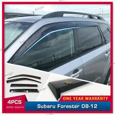 AUS Original Injection Weather Shields Weathershields For Forester 08-12  #T