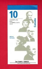 1996 CARNET TIMBRES CANADA BOOKLET  STAMPS BK195b # 1626a  AUTHORS DA18