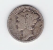 1927 MERCURY SILVER DIME United States America Coin S-467