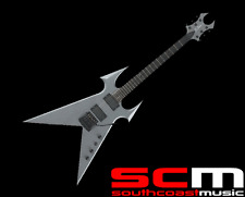 RRP $2000 BC RICH KERRY KING BEAST SIGNATURE ELECTRIC GUITAR GUN METAL