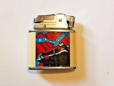 Flint Lighter Wicking Style Collectible Car and Flag