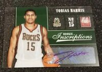2012-13 Tobias Harris Elite ROOKIE INSCRIPTIONS AUTO RC