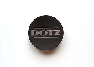 1X DOTZ WHEEL CENTER CAP DOTZ TOUGE Black Concave ZO2090 ZO2091 ZA1370 60 mm