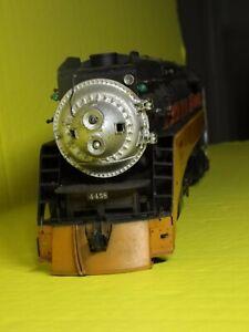 O 2-Rail Brass SP GS-4 4-8-4 Steam Locomotive & Tender/ MAX GRAY
