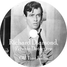 Richard Diamond Old Time Radio Show OTR 116 Episodes on 1 MP3 DVD Free Shipping