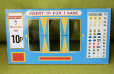 Slot Machine  award cards,reel strips &Top glasses custom made,  From £8
