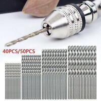 10//25Pcs Mini Drill HSS Bit 0.5mm-3.1mm Straight Shank PCB Twist Drill Bits Set
