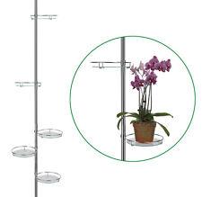 Teleskop-Blumenregal Blumenständer für 5 Pflanzen Blumentreppe Pflanzenregal #44