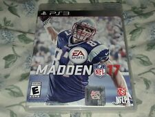 New ListingMadden Nfl 17 (Sony PlayStation 3, Ps3) Complete Tested Free Shipping