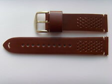 Fossil repuesto original pulsera de cuero fs5320 uhrband watch Strap marrón Brown 22 mm