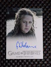 GAME OF THRONES SEASON 3 Gemma Whelan as Yara Greyjoy  AUTOGRAPH CARD