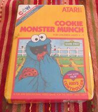 Sesame Street: Cookie Monster Munch (Atari 2600, 1983)