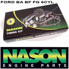 FORD FALCON BA BF FG TERRITORY SX SY 4.0 BARRA 6 CYL INC TURBO TIMING CHAIN SET