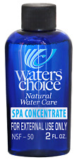 Waters Choice 2oz. Spa Enzyme Treatment Concentrate 6-month supply All Natural