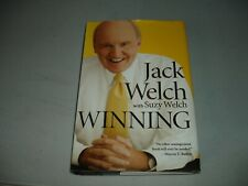 Winning - Jack Welch & Suzy Welch SIGNED X 2 (2005, Hardcover) 1st ED, VG
