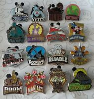 Walt Disney World Mascots Mystery Pin Pack WDW Attractions Choose a Disney Pin