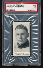 1923 V128 Paulin's CRUTCHY MORRISON #48 PSA 3 - Not Redeemed