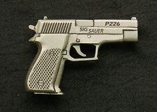 Empire Pewter Sig Sauer P226 Handgun Pewter Pin
