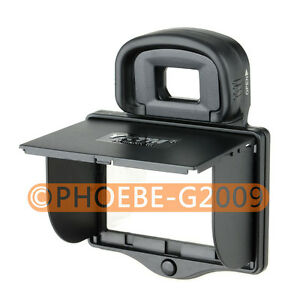 LCD Screen Hood Pop-Up Shade Cover for CANON 5D Mark III 5D III