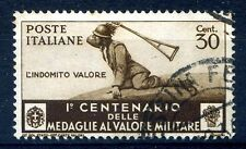 REGNO 1934 - MEDAGLIE  Centesimi 30    Usato