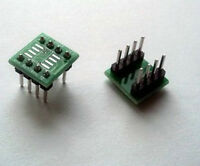 New 5pcs SOP8 SO8 SOIC8 TO DIP8 adapter pcb conveter board