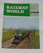 RAILWAY WORLD MAY 1968 - BEYAR-GARRETT LOCOMOTIVES IN SOUTH AFRICA