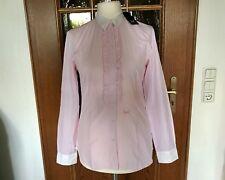 Sansibar Sylt Bluse langarm Gr. M rosa-weiß gestreift