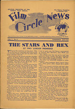 film circle news . vol 1 number 4 . 1948 lythe ormen dejon