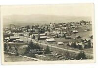 RPPC Birdseye View of PHILIPSBURG MT Montana Granite County Real Photo Postcard
