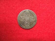 """1746 """"LIMA"""" Re Giorgio II argento massiccio Coin (qualità molto buona) """"JG'"""