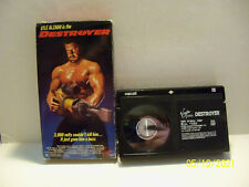 BETAMAX Destroyer Lyle Alzado NFL Anthony Perkins Beta USED Video Tape NOT VHS