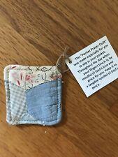 Pocket Prayer Quilt Primitive Quilt Square