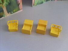 Lego Duplo Vintage 2 mesas y 2 Sillas