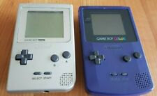 game boy pocket in silber+ color in lila*defekt*