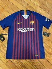 Nike FC Barcelona 2018/2019 Vapor Match Home Mens Jersey, Size Large