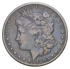 1893-CC Morgan Silver Dollar - Charles Coin Collection *630