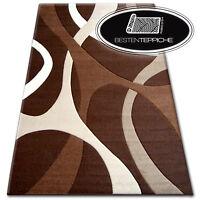 versch Farben 10 Größen Modern Abstrakt Weich Teppich PILLY 7848 cocoa TOP