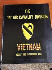US Army Vietnam Cruise Book 1st Cavalry Division 1965-1969 1st Air Skytrooper