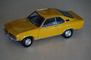 Opel Manta A 1971 Ocker  1:18 Norev 183620 neu + OVP
