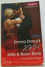 Mills and Boon 100th THE MASTER PLAYER by EMMA DARCY