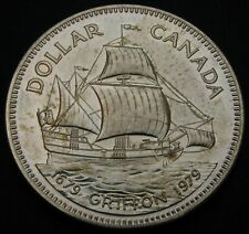 CANADA 1 Dollar 1979 - Silver - Elizabeth II. - Griffon - aUNC - 2789