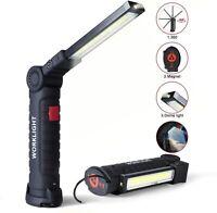 Lampe de Travail LED 5 Modes - Lampe Torche Baladeuse LED 800LM, Lampe