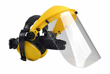 Oregon Polycarbonate Clear Visor and Ear Muffs Combination Q515062