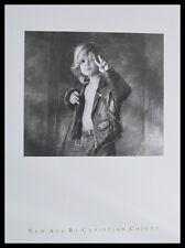 Christian Coigny New Age poster immagine stampa d'arte nel quadro in alluminio in nero 60x50cm