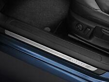 GENUINE VW PASSAT B7 FRONT + REAR STAINLESS STEEL DOOR SILL KICK PLATES TRIM SET