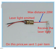 DC5V Long-range Laser Detection Distance 20 Meters The Laser Beam Sensor NEW