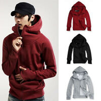 JN_ Men's Winter Hoodie Warm Hooded Sweatshirt Coat Jacket Outwear Sweater Top
