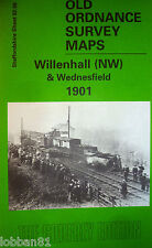Old Ordnance Survey Map Willenhall NW & Wednesfield Staffordshire 1901 S62.09