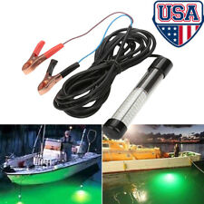 12V LED Underwater Electronic Fish Attraction LED Light High Intensity Green US